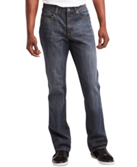 Kenneth Cole Reaction Straight Leg Tinted Jeans Indigo