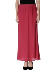 Blue Les Copains Skirts Long Skirts Women Garnet