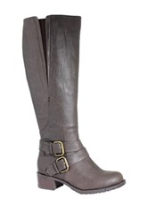 Intaglia Vermont Extra Wide Calf Boot Brown