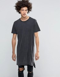 Cheap Monday Longline Casualty T Shirt Black