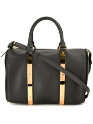 Sophie Hulme Charlton Medium Tote Black