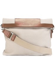 Maison Martin Margiela Canvas Shopping Bag Nude Neutrals