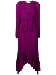 A.L.C. Stanwyck Dress Purple