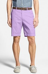 Men's Big And Tall Bobby Jones Stretch Cotton Flat Front Shorts Purple Hyacinth