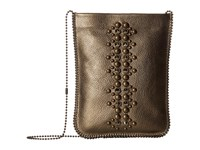 Leather Rock Cp64 Antique Gold Cross Body Handbags