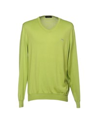Harmont And Blaine Sweaters Acid Green