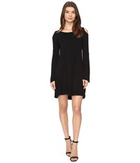 Culture Phit Dallon Cold Shoulder Dress With Bell Sleeves Black Women's Dress