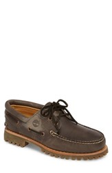Timberland Lug Classic Boat Shoe Steeple Grey Leather