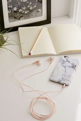 Urban Outfitters Skinnydip Rose Gold Earbud Headphones