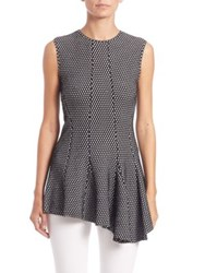 Derek Lam Sleeveless Asymmetrical Top