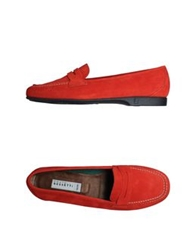 Fratelli Rossetti Moccasins Red