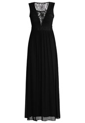 Swing Maxi Dress Schwarz Black