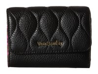 Vera Bradley Riley Compact Wallet Black Wallet Handbags
