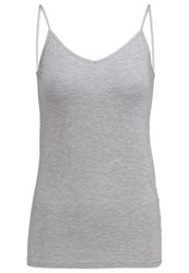 Gap Top Mottled Light Grey