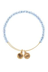 Alex And Ani Rock Candy Expandable Wire Bangle Blue