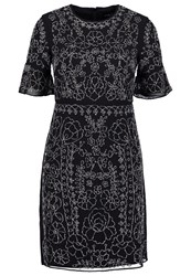 Needle And Thread Cocktail Dress Party Dress Black Silver