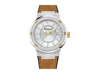 Salvatore Ferragamo F80 Fif08 0016 Stainless Steel Camel Watches Brown