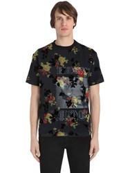 Mcq By Alexander Mcqueen Overlay Printed Cotton Jersey T Shirt