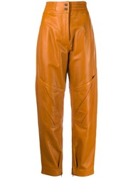 Acne Studios Carrot Shaped Trousers Brown