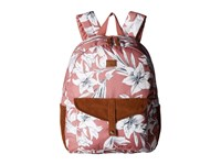 Roxy Carribean Backpack Withered Rose Lily House Backpack Bags Multi