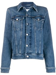 Calvin Klein Jeans Fitted Denim Jacket 60