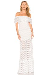 Nightcap Fiesta Positano Maxi Dress White