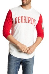 Mitchell And Ness Mlb Cardinal Extra Out 3 4 Length Sleeve Tee Multi