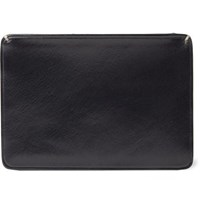 Il Bussetto Polished Leather Cardholder Black