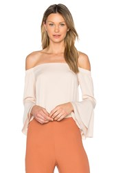 Amanda Uprichard Arabelle Top Beige