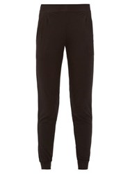 Derek Rose Basel Micromodal Blend Track Pants Black