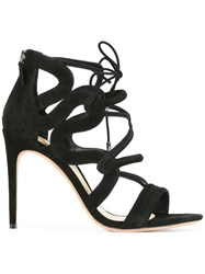 Alexandre Birman Lace Up Detailing Sandals Black