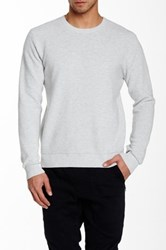 Vanishing Elephant Ribbed Pullover Gray