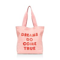Ban.Do Ban. Do Big Canvas Tote Dreams Do Come True No Color