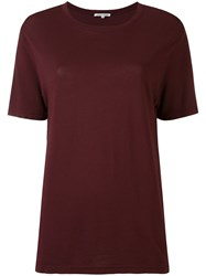 Cotton Citizen Relaxed Fit T Shirt Red