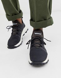 Timberland Brooklyn Hiker Trainers In Black Ripstop