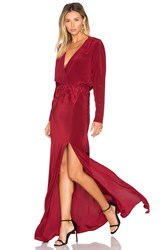 Stone_Cold_Fox X Revolve Alabama Gown Red