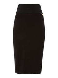 Episode Fitted Pencil Skirt Black
