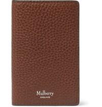 Mulberry Full Grain Leather Bifold Cardholder Brown