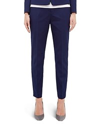 Ted Baker Textured Tapered Pants Dark Blue