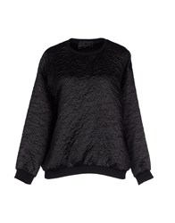 Mary Jane Topwear Sweatshirts Women Black
