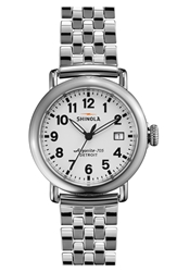 Shinola 'The Runwell' Bracelet Watch 36Mm Silver