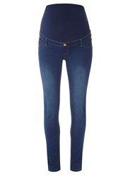 Dorothy Perkins Maternity Blue Over Bump Vintage Jeans