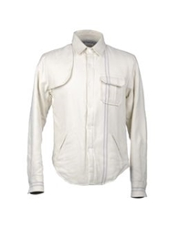 Band Of Outsiders Jackets Ivory