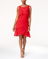 Si Fashions Sl Tiered Necklace Dress