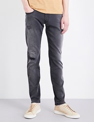 Replay Anbass Hyperflex Slim Fit Skinny Jeans Grey