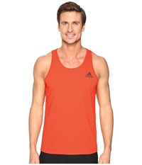 Adidas Ultimate Tank Top Energy S17 Men's Sleeveless Orange