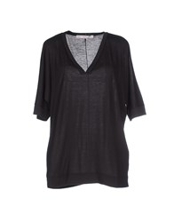 Jucca Topwear T Shirts Women Steel Grey