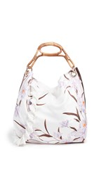 Zimmermann Slouch Bag Ivory Lilac