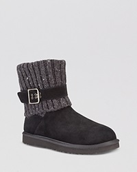 Ugg Australia Booties Cambridge Sweater Cuff Black