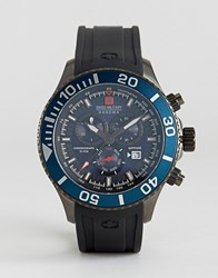 Swiss Military Immersion Chronograph Watch Black